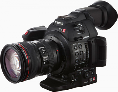 Canon EOS C100 Mark II №6 (с трансфокатором)